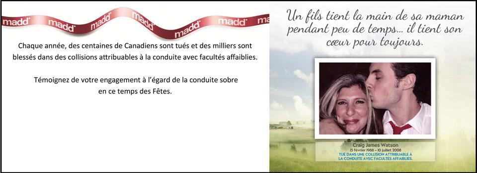 Diapositive pour page d'accueil – Opération ruban rouge 2014