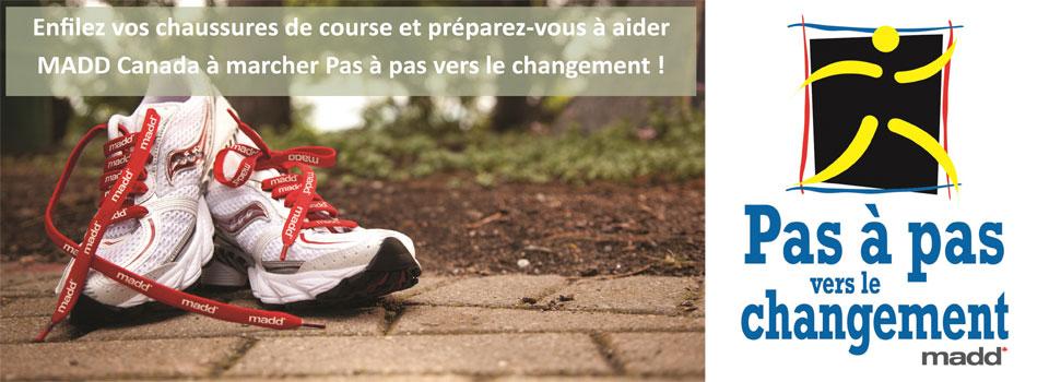 Diapositive pour page d'accueil – Pas à pas vers le changement 2015