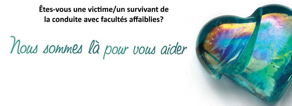 Diapositive pour page d'accueil – Services aux victimes/survivants 2015